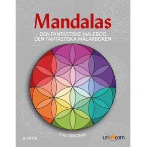 Målarbok Mandalas från 8år