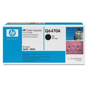 Toner HP Q6470A 501A Svart