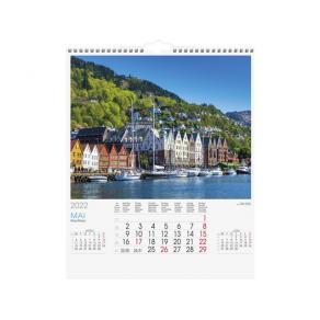 Veggkalender GRIEG Norge 2022