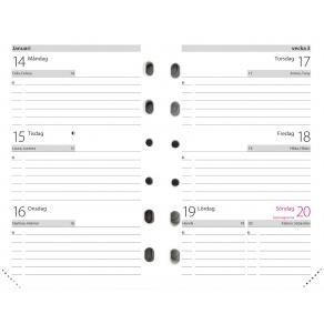 Compact kalendersats - 4201