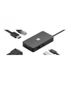 Microsoft USB-C Travel Hub - Dockningsstation - USB-C - VGA,