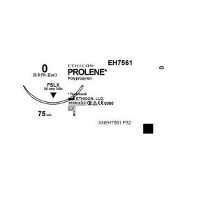 Sutur PROLENE 0 FSLX 75cm 36/FP
