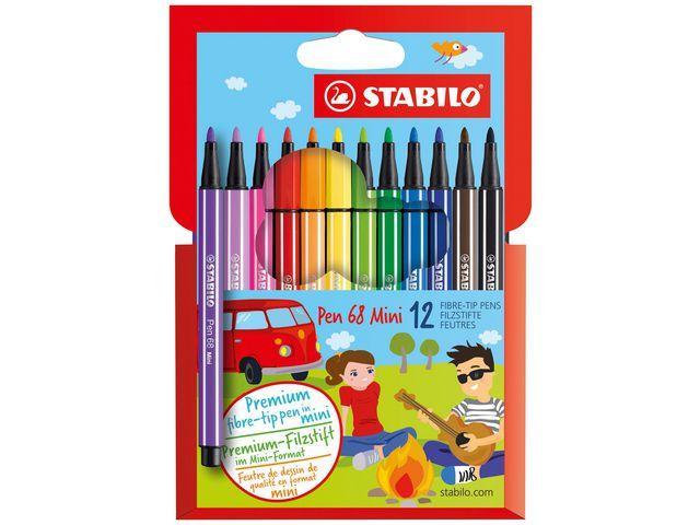 Fineliner STABILO Pen 68 mini (12)