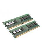 Crucial - DDR2 - kit - 4 GB: 2 x 2 GB - DIMM 240-pin - 800 MHz /