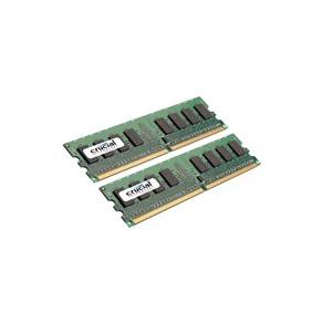 Crucial - DDR2 - sats - 4 GB: 2 x 2 GB - DIMM 240-pin - 800 MHz