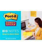 Post-it Big Notes 28x28cm gul