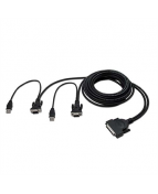 Belkin OmniView Dual Port Cable, USB