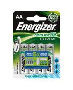 Batteri Energizer Recharge AA Extreme, 4/fp