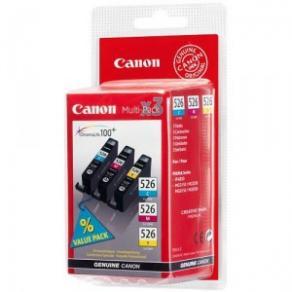 Canon CLI-526 Multipack - 3-pack - gul, cyan,