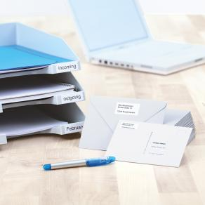Etiketter HERMA Premium, 48,5x25,4mm, 40 per sida, 4000/fp