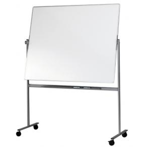 Whiteboard Mobil, vändbar, 200x120cm