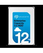 Seagate Exos X12 ST12000NM0007 - Hårddisk - 12 TB - inbyggd