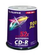 CD-R 700 MB 52x Cakebox (100)