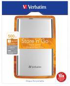 500GB Hard Drive 2,5'' Store N Go silver