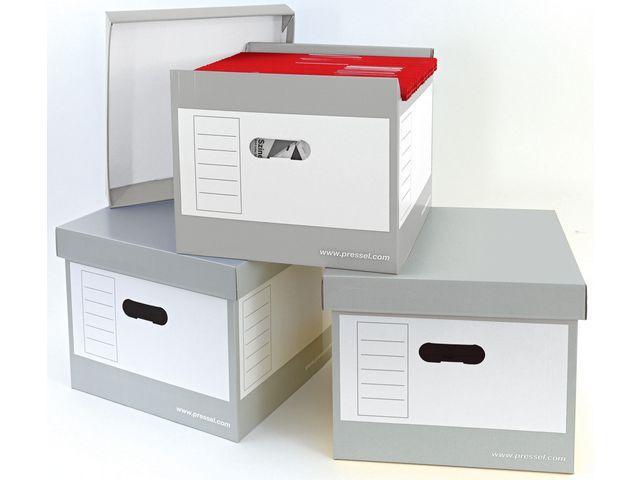 Hängmappsbox med lock, 335x305x296mm, 2st
