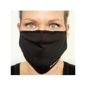 Tygmunskydd 3-lags svart