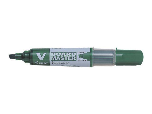 Whiteboardpenna PILOT V Board Grön, sned
