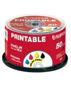 DVD-R 4.7GB 16x Printable Inkjet (50)