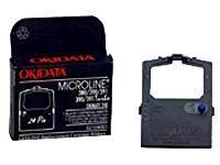 OKI - 1 - svart - färgband - för Microline