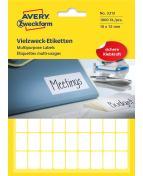 Etikett handskriv 18x12 mm 1800/FP