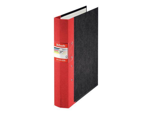 Gaffelpärm JOPA Vivida A4 Trärygg Röd, 60mm