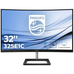 "Philips E-line 325E1C - LED-skärm - böjd - 32"" (31.5"" visbar)"