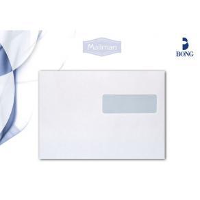 Kuvert C5 H2-Fönster Fukthäftade, vit, 90g, 500/fp