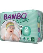 Blöja Bambo Nature 3-6kg 30/fp