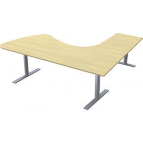 Skrivbord 2200x2000 3-p Man bj