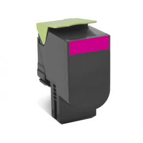 Toner LEXMARK 80C2SM0 802SM magenta