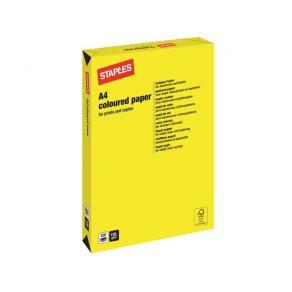 Kopieringspapper Gul A4, 120g, 250/bunt