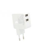 Insmat - Strömadapter - 3.1 A - 2 utdatakontakter (USB)