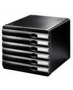 Blankettbox LEITZ Allura 6 lådor svart