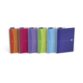Anteckningsblock Oxford My Colours A4, linjerat, 90g