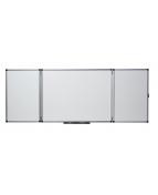 Whiteboard NOBO Utvikbar 5 sidor, låsbar, 120x90cm