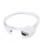 C2G 6ft Mini DisplayPort Male to VGA Male Active Adapter Cable