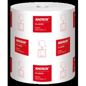 Torkrulle System KATRIN Classic L2, 2 lager, 200m, 6rl/fp