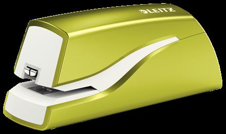 Elhäftare Leitz batteri WOW grön, 10ark