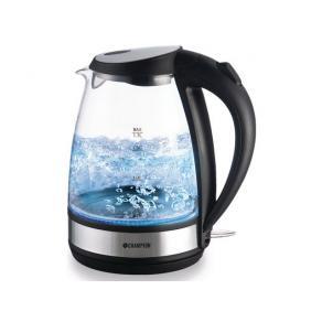 Vattenkokare CHAMPION Glas, 1,7 Liter