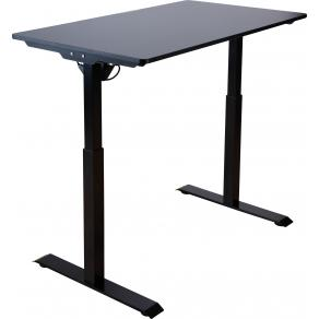 Bord höj/sänk SUN-FLEX 120x60cm svart
