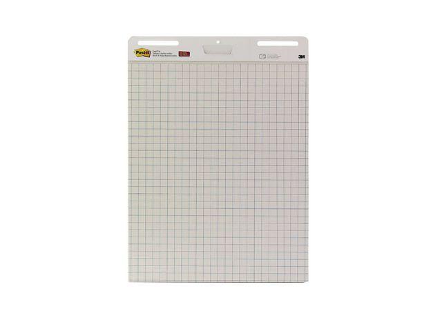 Blädderblock POST-IT rut 635x775mm