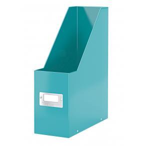Tidskriftssamlare Click & Store WOW A4 isblå