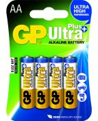 Batteri GP Ultra Plus AA LR6 4/FP