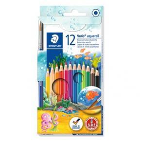Akvarellpenna STAEDTLER, 12 färger