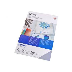 Plastomslag A4 0,15mm PVC klar 100/FP