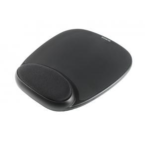Kensington Gel Mouse Rest - Mustablett med handledskudde - svart