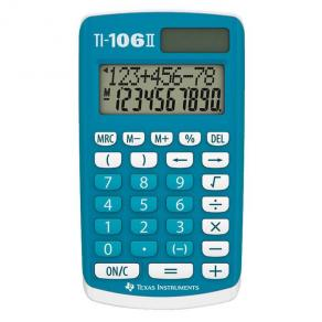 Grundskoleräknare TEXAS TI-106 II Solcell