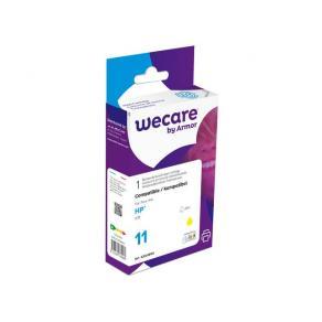 Bläckpatron WECARE HP 11 Gul