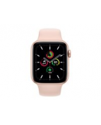 Apple Watch SE (GPS + Cellular) - 44 mm - guldaluminium - smart
