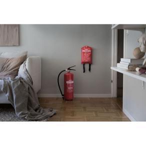 Brandsläckare NEXA pulver 6kg röd 43A